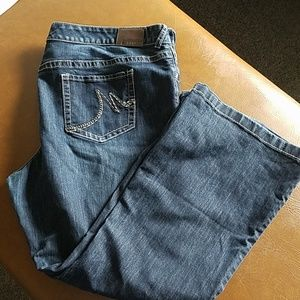 Maurice size 24 distressed jeans